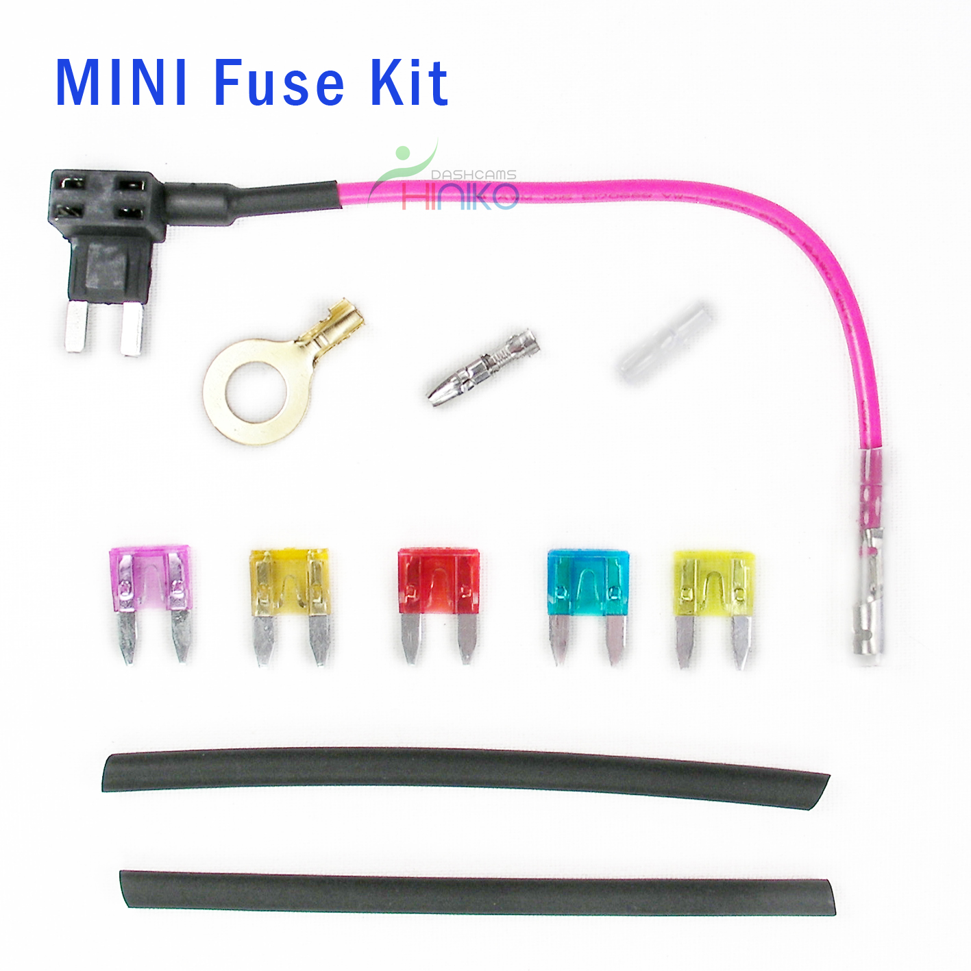Miniusb Hardwire Kit Bdp Battery Discharge Prevention Device Car Fuse Box Tap Mini Blade Add A Circuit In Piggy Back