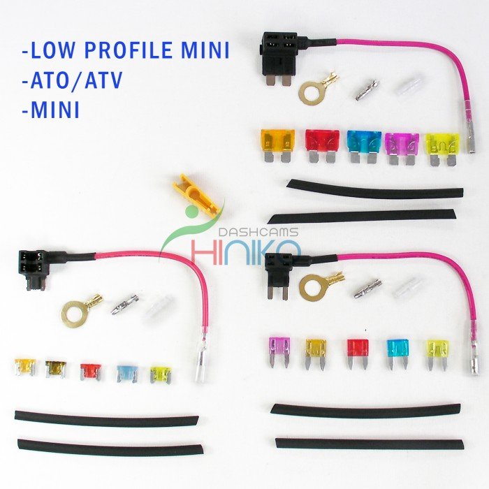 Complete Blade Fuse KIT. Add-a-Circuit Fuse Tap Piggy Back Fuse ...