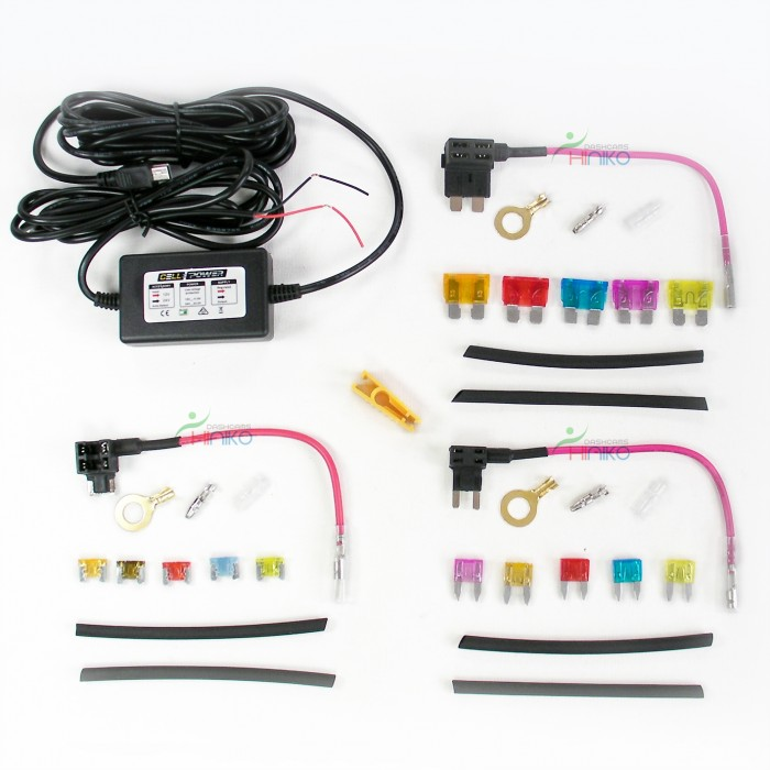complete kit miniusb bdp hardwire add a circuit fuse tap piggy auto mini fuse tap miniusb bdp hardwire add a circuit fuse tap piggy back fuse holder 12 24v ( ato atv, mini, micro )